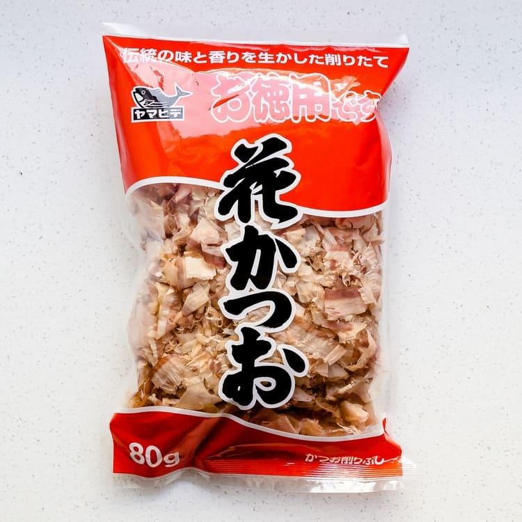 Keto Asian cooking ingredients - Bonito Flakes Asian Recipe