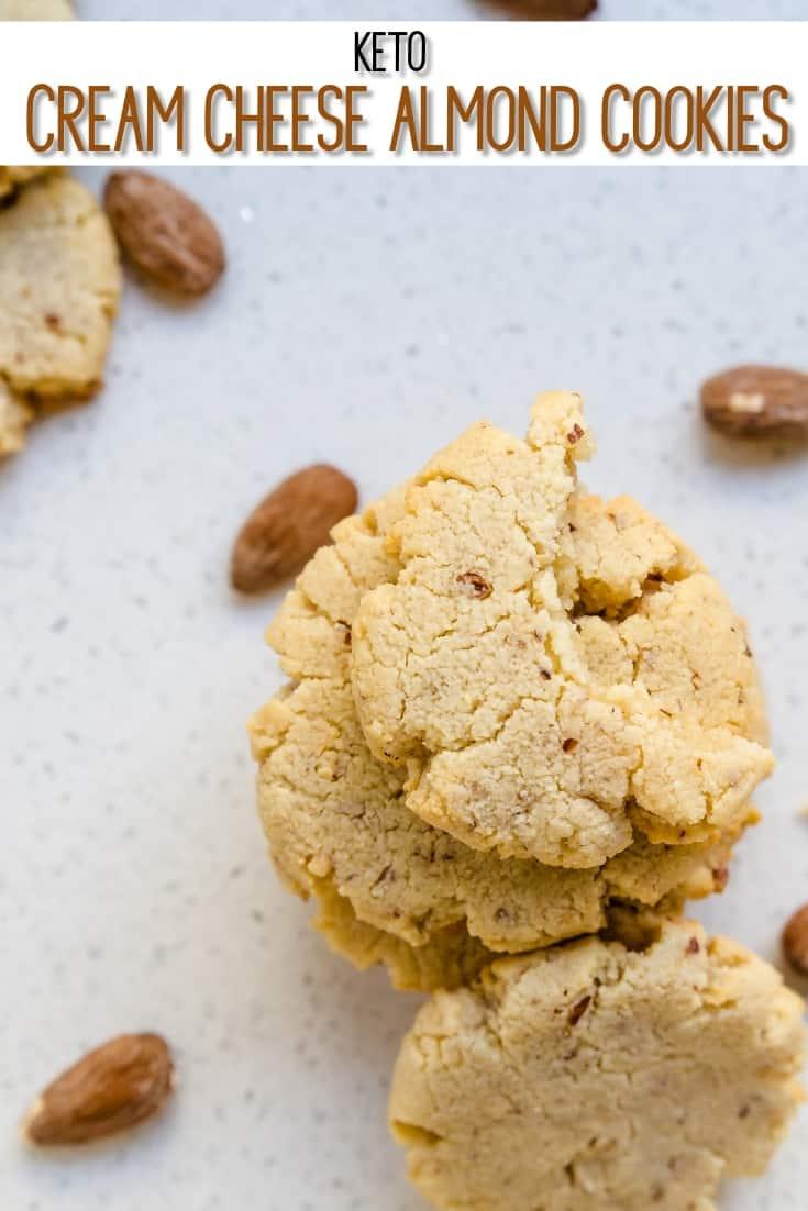 Keto Cream Cheese Almond Cookies Pic 1