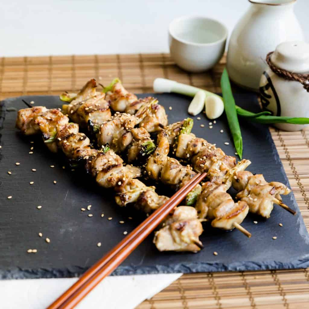Keto Japanese Chicken Skewers - Yakitori Pic 2