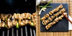 Keto Japanese Chicken Skewers - Yakitori Recipe (30)