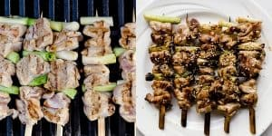 Keto Japanese Chicken Skewers - Yakitori Recipe (41)