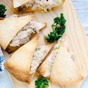 Keto Japanese Inspired Tuna Sandwich