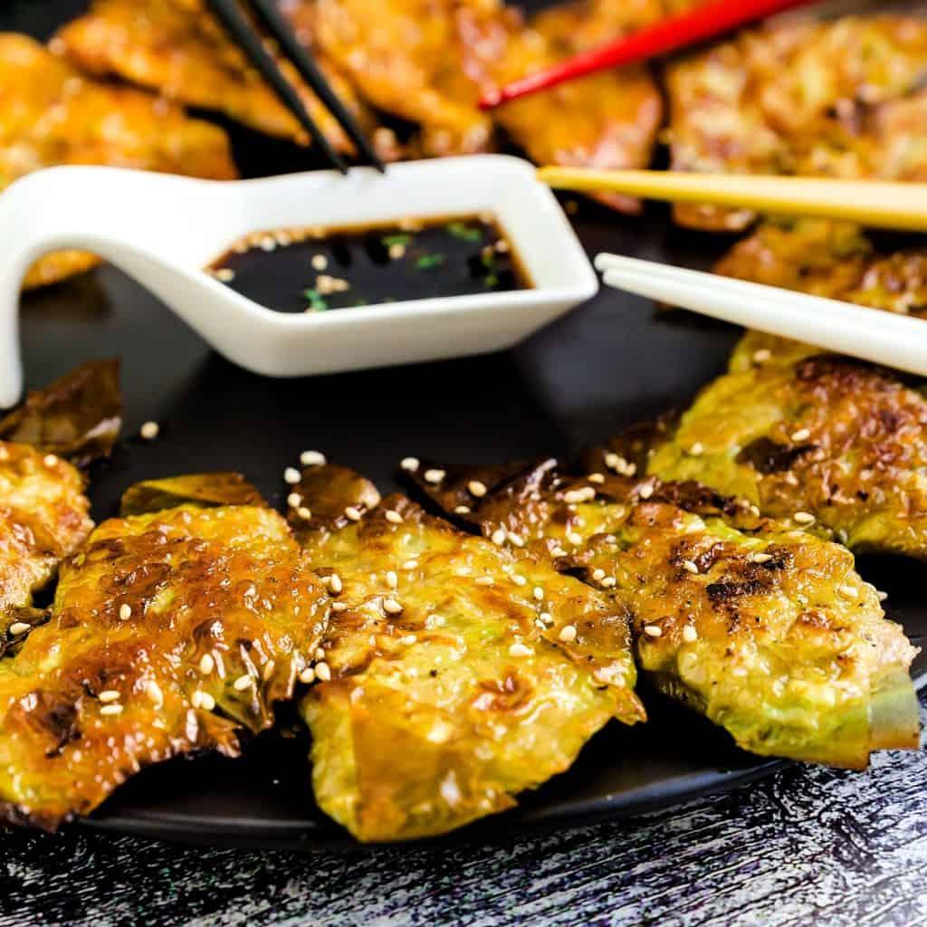 Keto Japanese Potstickers Gyoza LowCarbingAsian Pic 2
