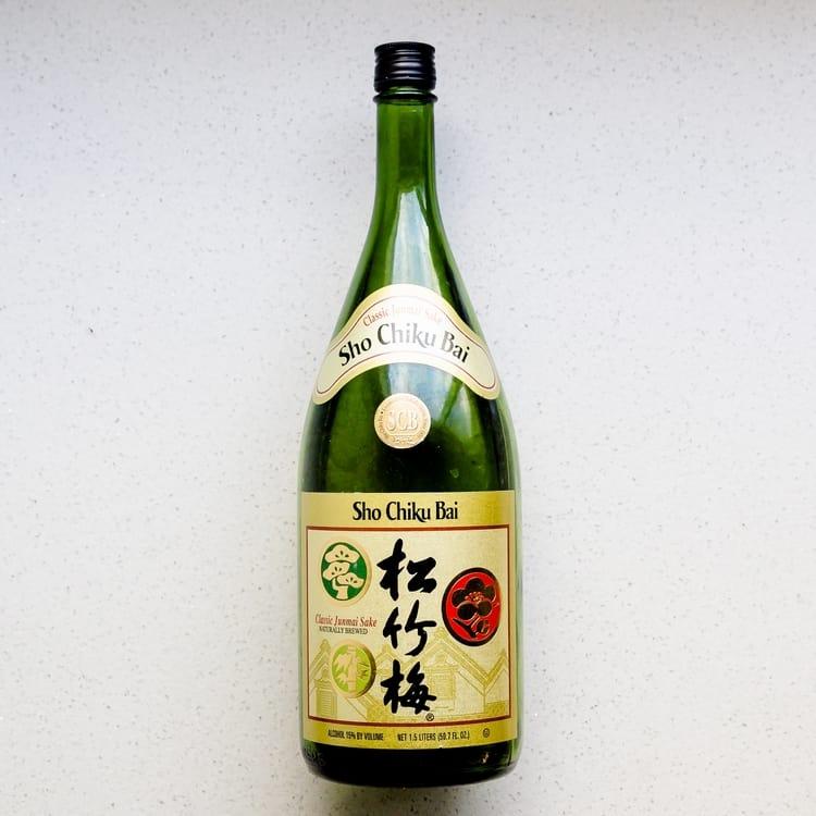 Keto Asian cooking ingredients - Japanese Sake Asian Recipe
