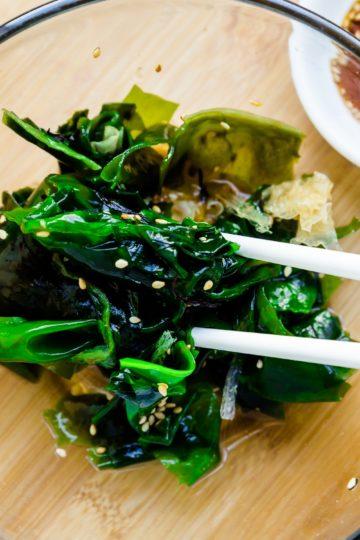 Keto Seaweed Salad - Hiyashi Wakame Cover