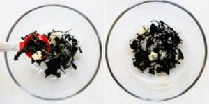 Keto Seaweed Salad - Hiyashi Wakame Recipe (15)