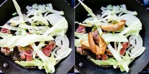 Low Carb Stir Fry Noodles - Yakisoba Recipe (20)