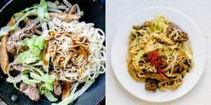 Low Carb Stir Fry Noodles - Yakisoba Recipe (22)