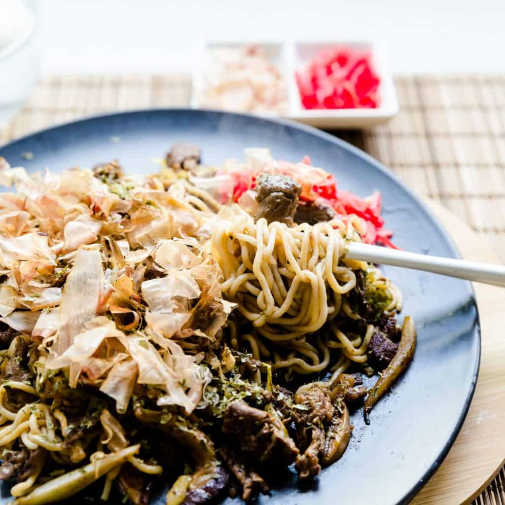 Low Carb Stir Fry Noodles- Yakisoba pic