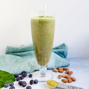 Matcha Green Energy Smoothie LowCarbingAsian Cover