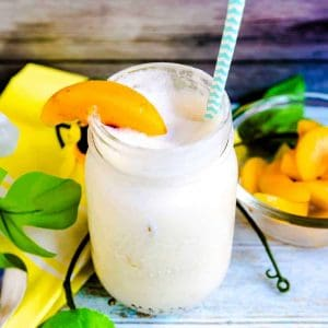 Peaches n' Cream Smoothie LowCarbingAsian Cover