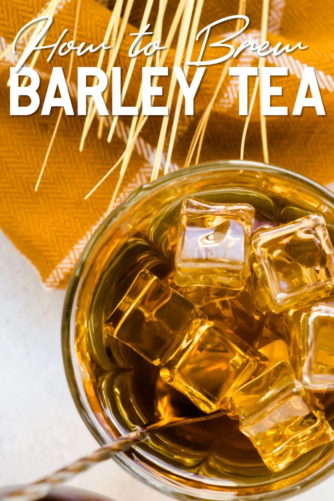 Barley Tea Mugicha in a cup