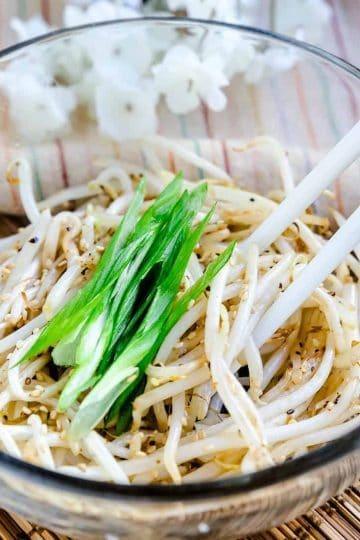 Bean Sprouts Stir Fry Moyashi LowCarbingAsian Cover