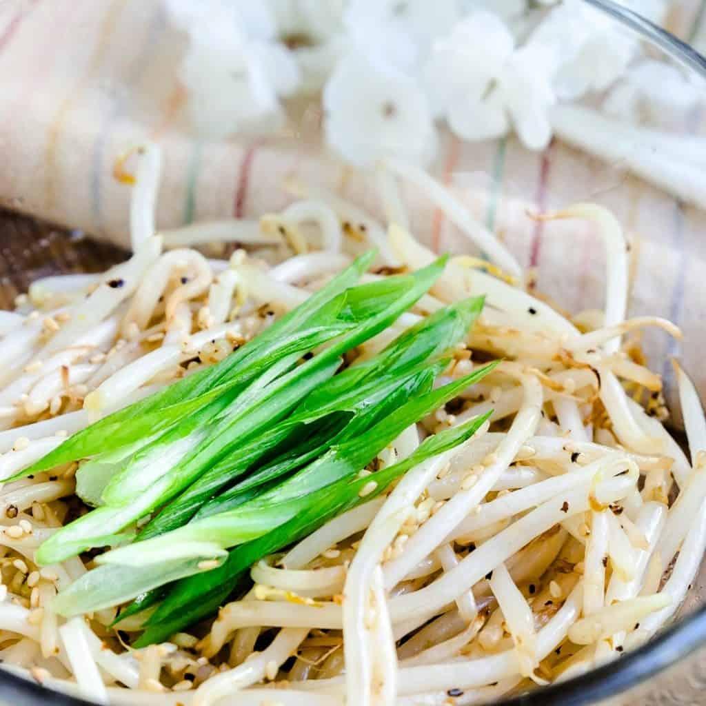 Bean Sprouts Stir Fry Moyashi LowCarbingAsian Pic 2