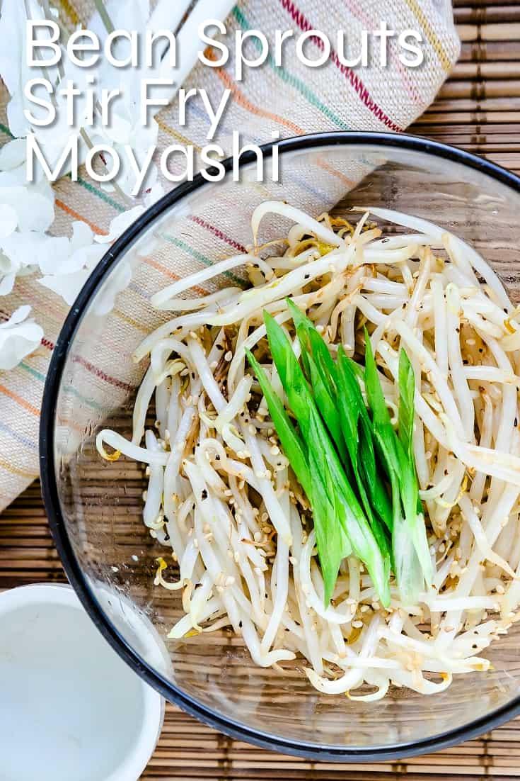 Bean Sprouts Stir Fry - Moyashi