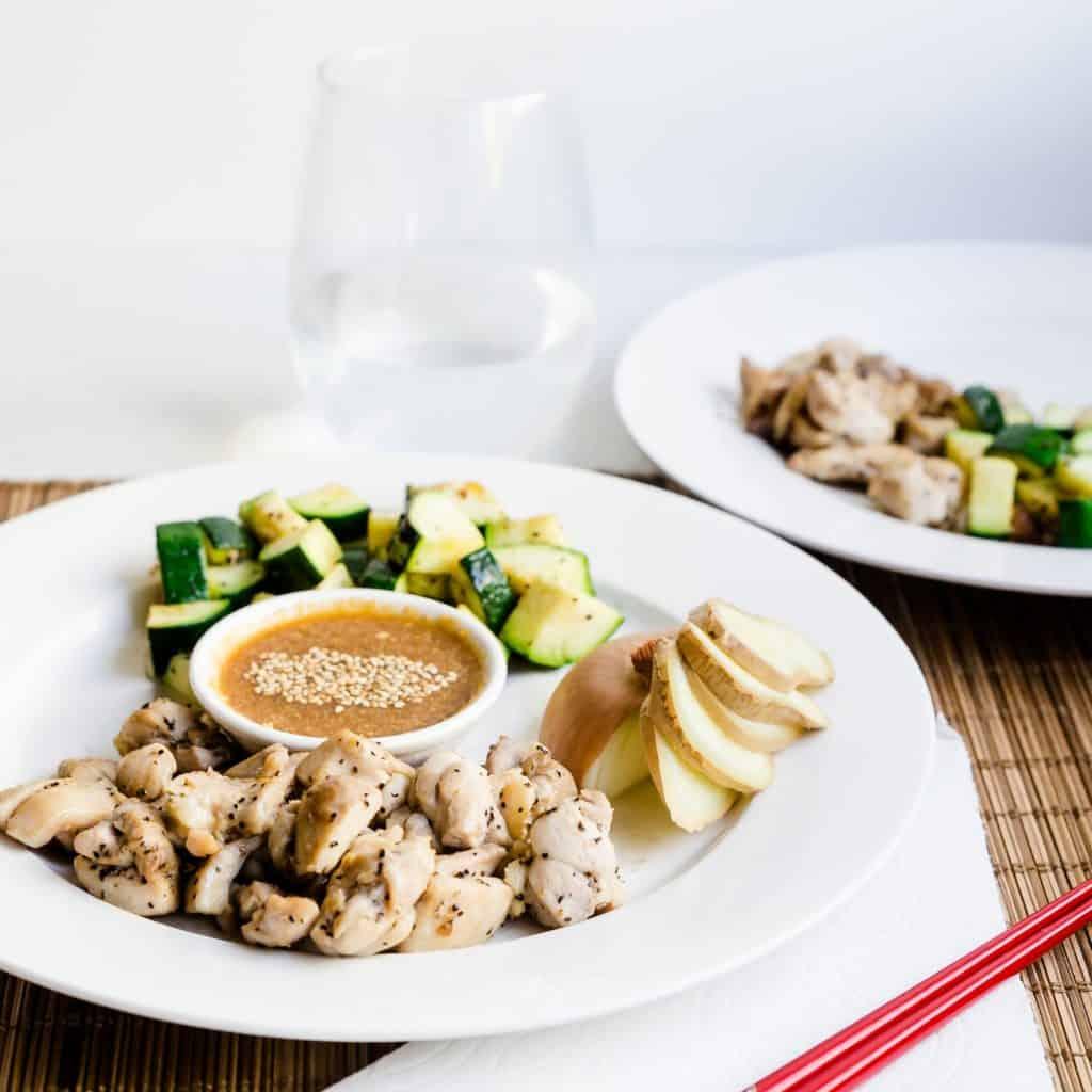 Benihana Style Hibachi Seared Chicken LowCarbingAsian Pic