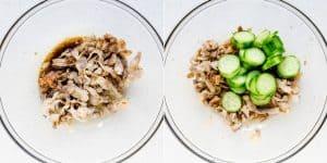 Japanese Cucumber Pork Belly Pickled Plum Salad Recipe (35)