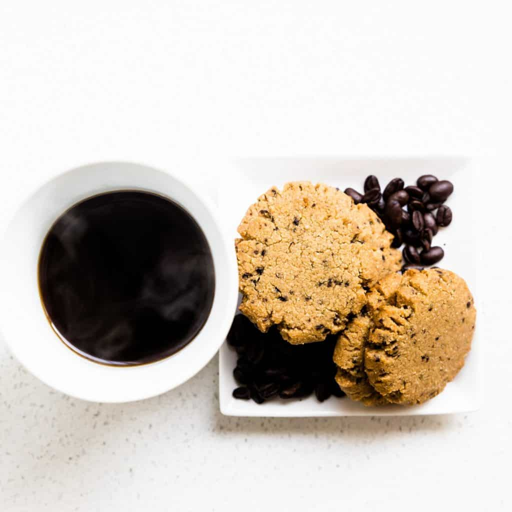 Keto Brown Butter Coffee Cookies LowCarbingAsian Pic