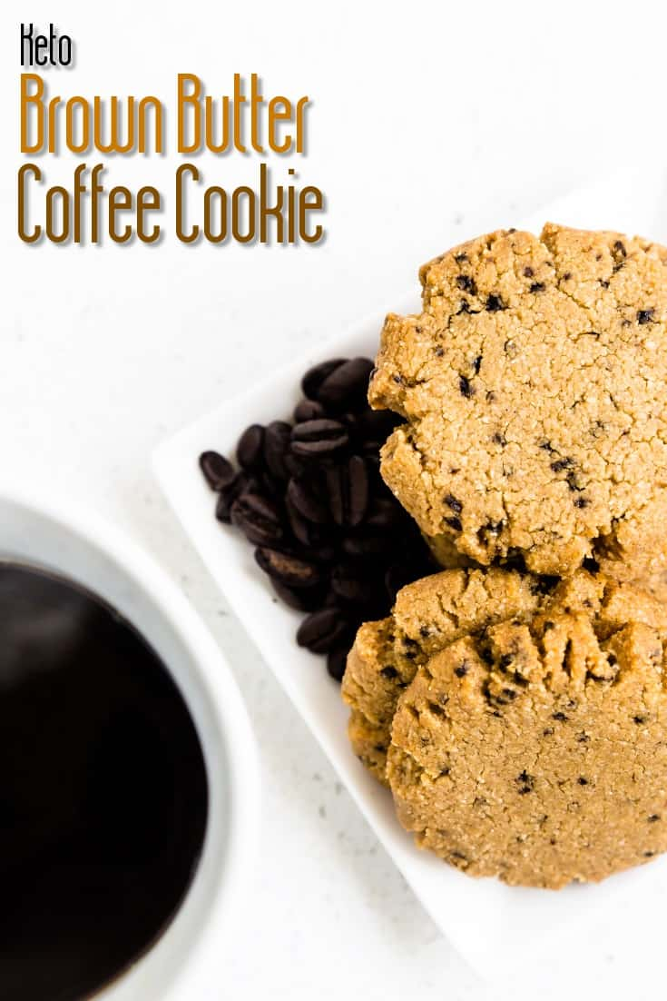 Keto Brown Butter Coffee Cookies LowCarbingAsian Pin 2