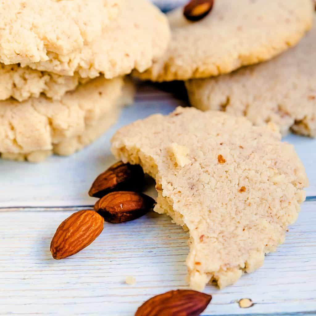 Keto Cream Cheese Almond Cookies LowCarbingAsian Pic 1