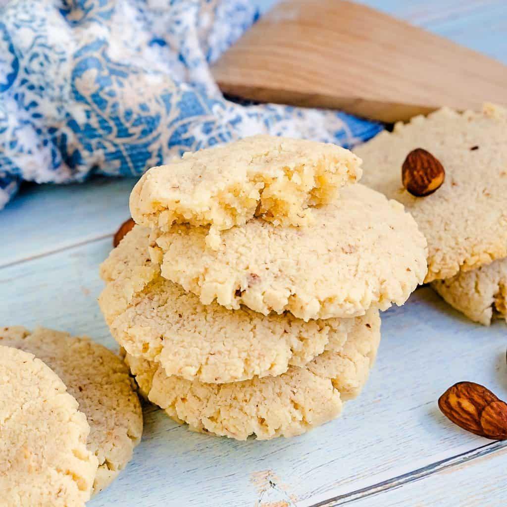 Keto Cream Cheese Almond Cookies LowCarbingAsian Pic 2