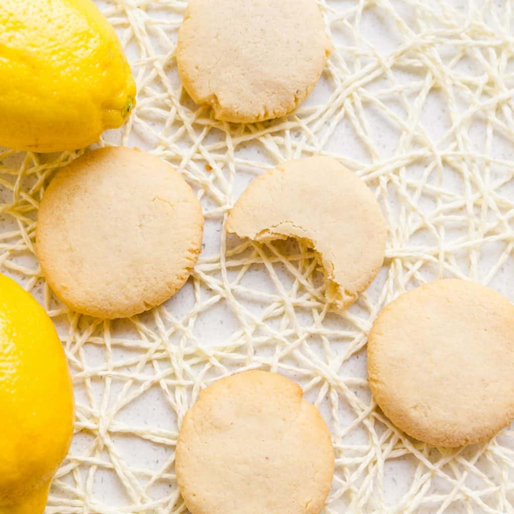 Keto Cream Cheese Lemon Drop Cookies LowCarbingAsian Pic