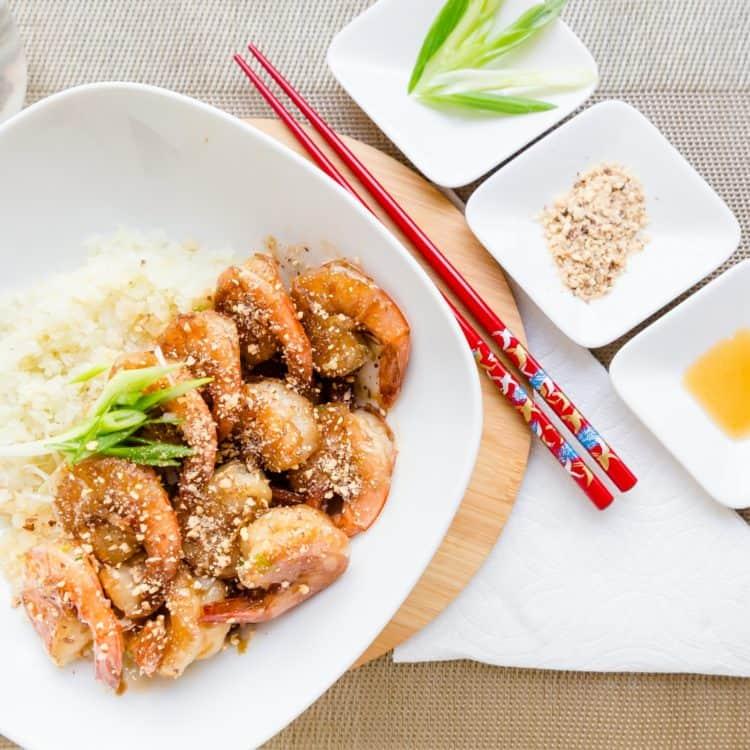 Keto Honey Garlic Shrimp Cover