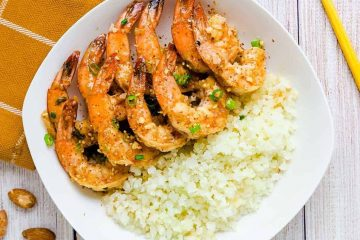 Keto Honey Garlic Shrimp