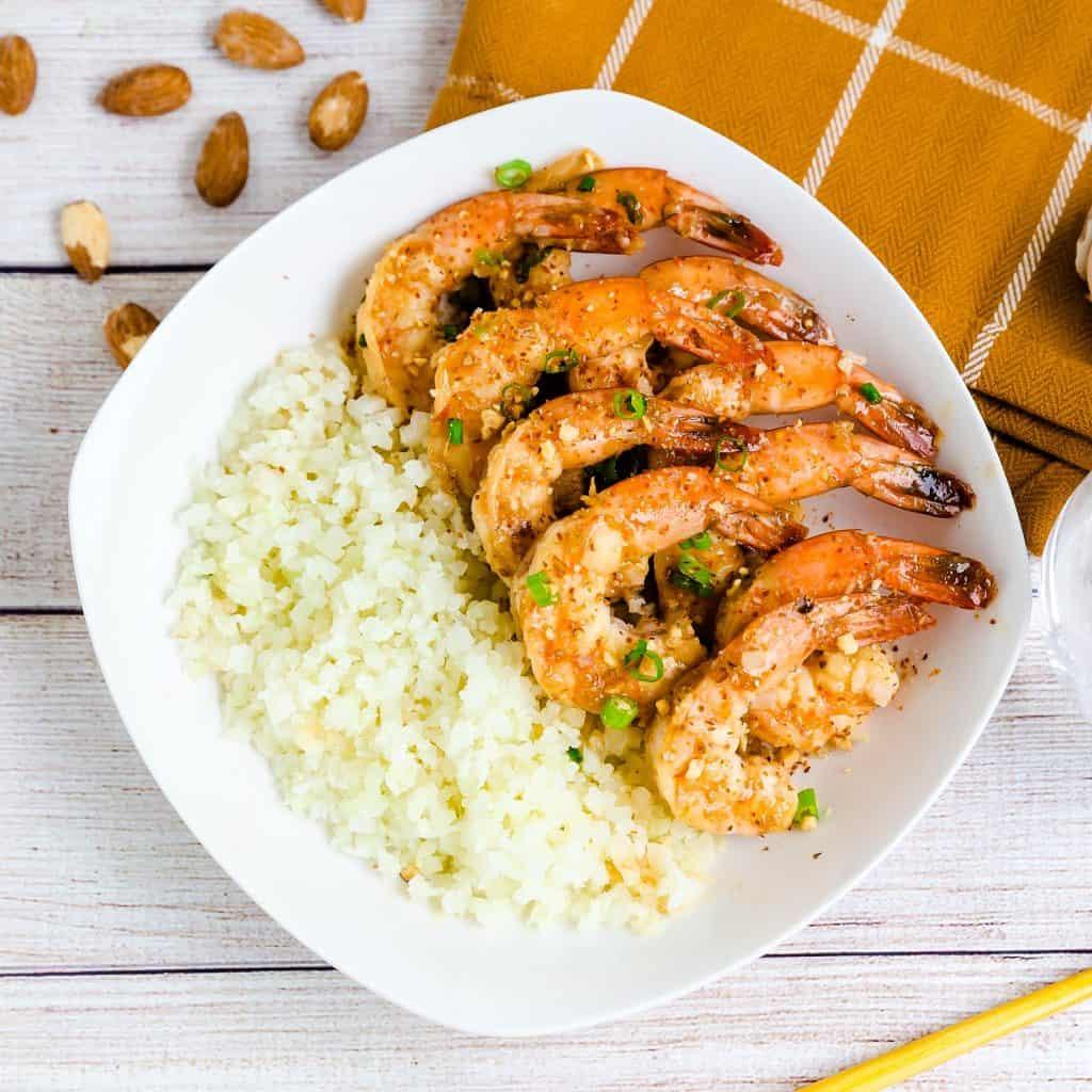 Keto Honey Garlic Shrimp LowCarbingAsian Pic 1