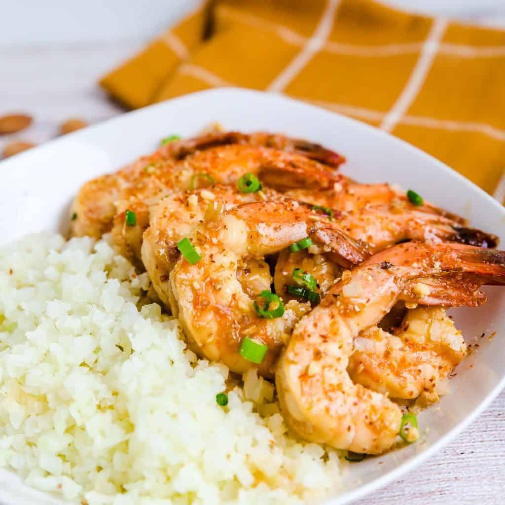 Keto Honey Garlic Shrimp LowCarbingAsian Pic 2