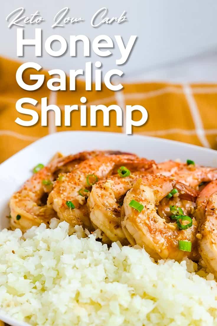 Keto Honey Garlic Shrimp LowCarbingAsian Pin 1