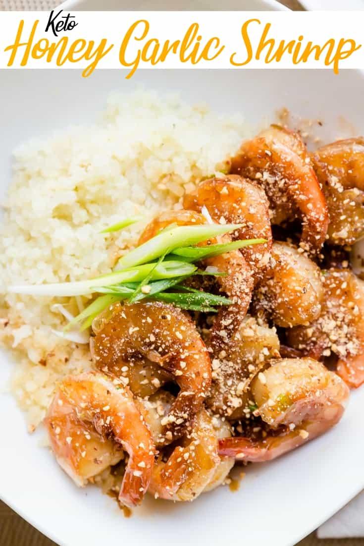Keto Honey Garlic Shrimp Pin 1