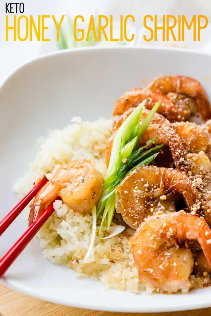 Keto Honey Garlic Shrimp Pin 2