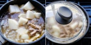 Keto Japanese Sliced Beef Stew Nikujaga Recipe (34)