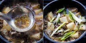 Keto Japanese Sliced Beef Stew Nikujaga Recipe (35)