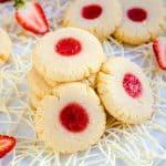 Keto Strawberry Cream Cheese Cookies