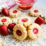 Keto Strawberry Cream Cheese Cookies LowCarbingAsian Cover