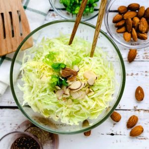 Mom's Japanese Cabbage Salad LowCarbingAsian Cover 2