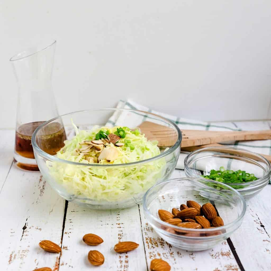 Mom's Japanese Cabbage Salad LowCarbingAsian Pic 1