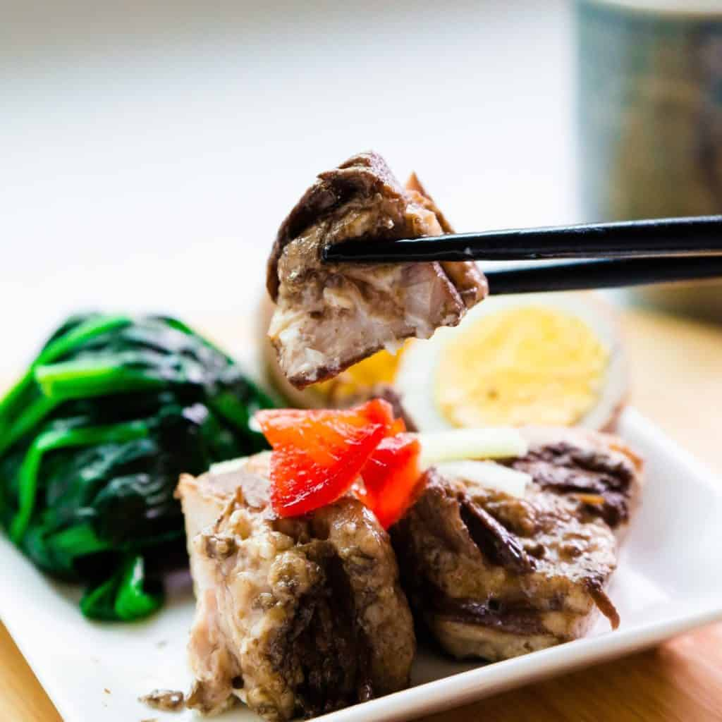 Top Asian pork recipes - Pork Braised Pork Belly