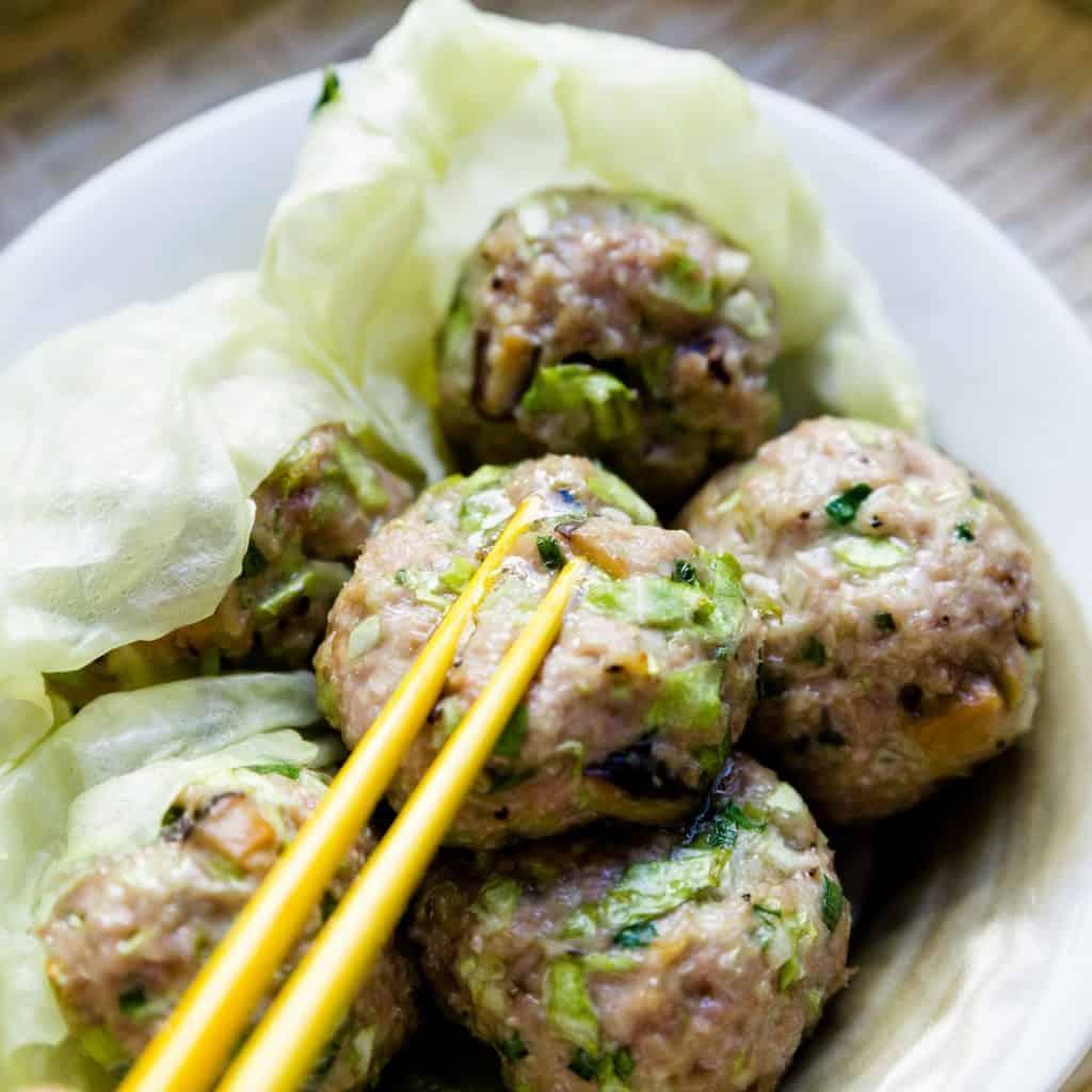 Top Asian pork recipes - Cream Cheese Skinless Dumplings