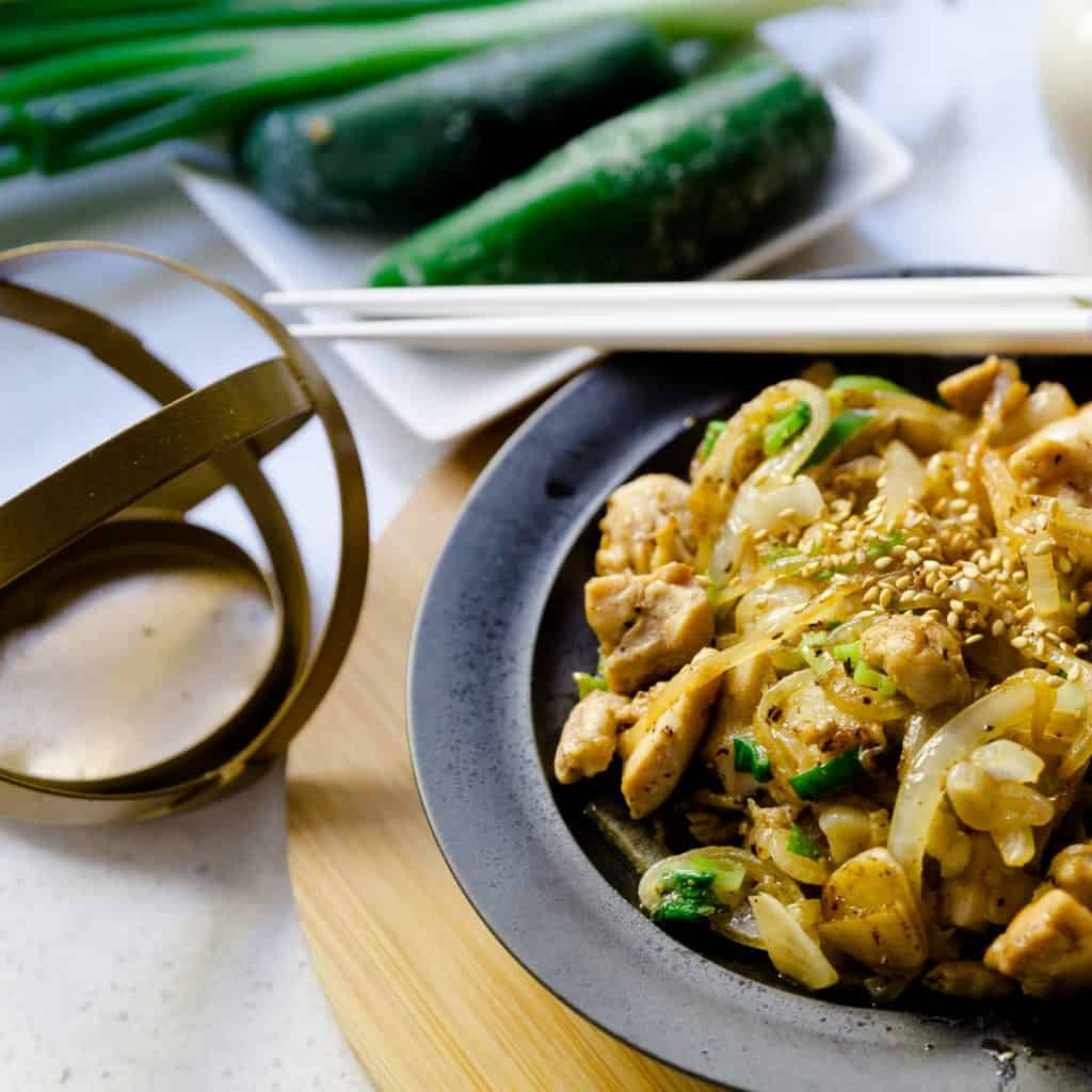 Top Asian Chicken Recipes - Seasme Chicken Stir Fry