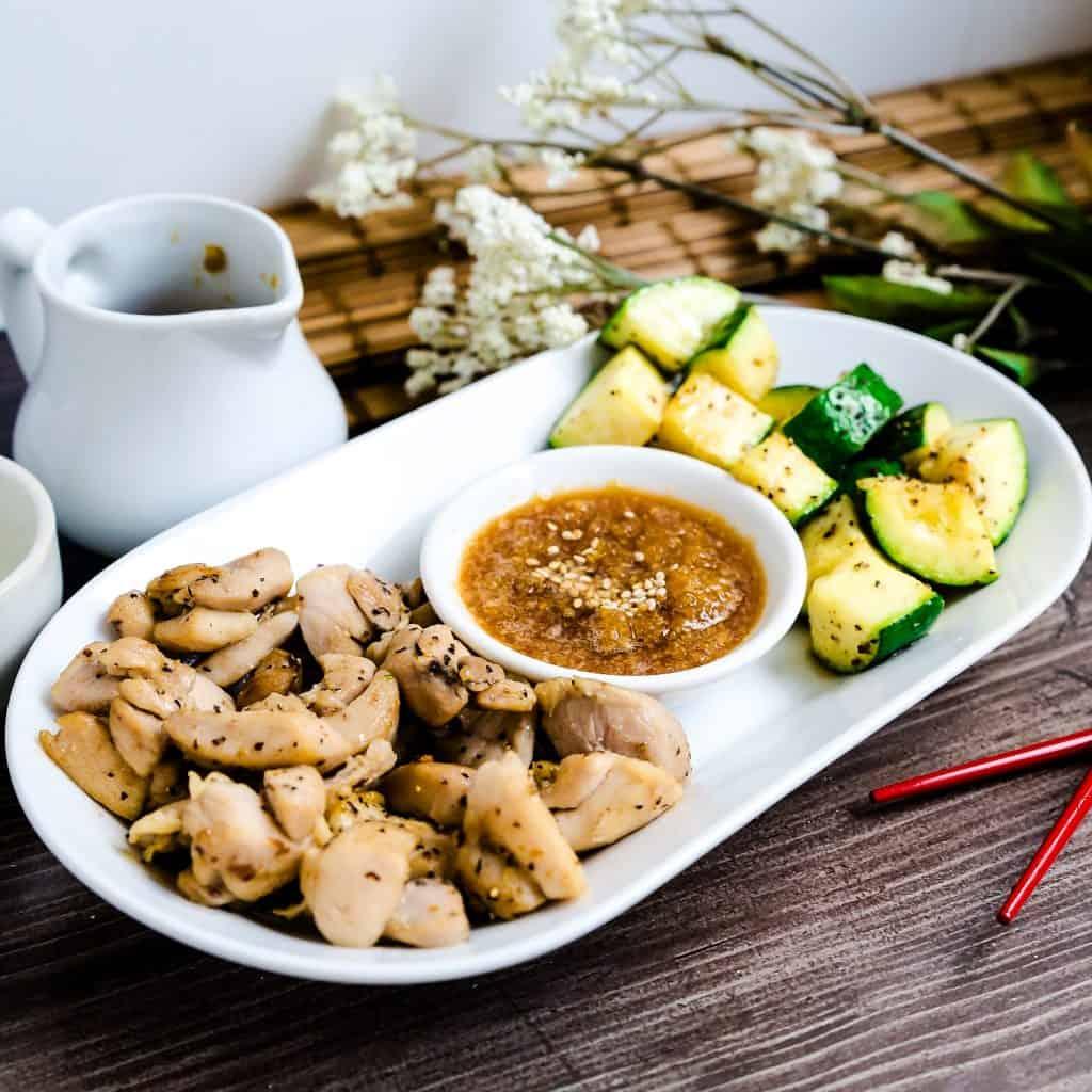 Benihana Style Hibachi Seared Chicken LowCarbingAsian Pic 2