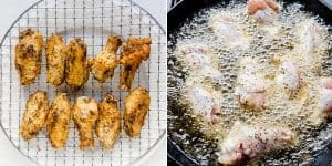 Fried Japanese Garlic Chicken Wings - Tebasaki Age Recipe (24)
