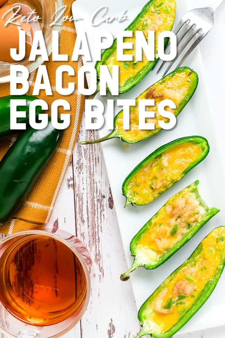 Jalapeno Bacon Egg Bites LowCarbingAsian Pin 1