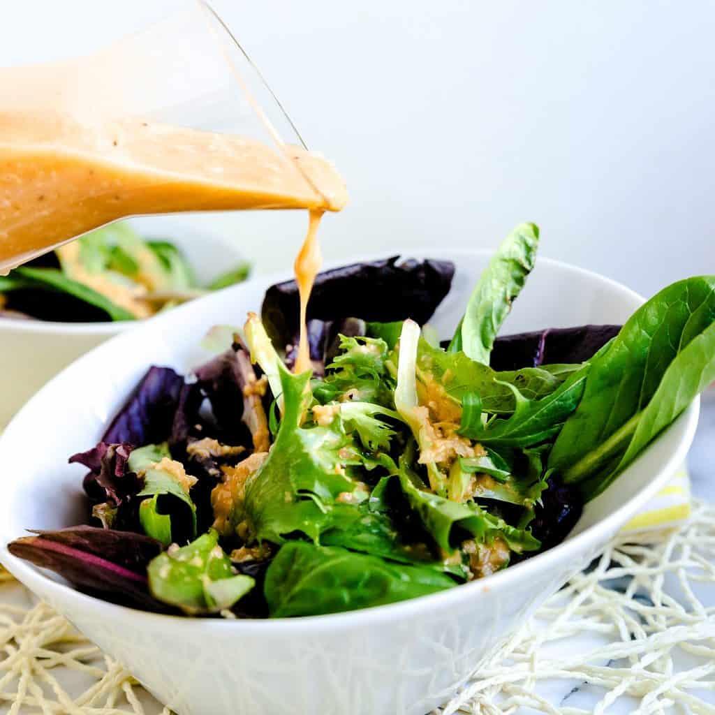 Japanese Ginger Salad Dressing LowCarbingAsian Pic 1