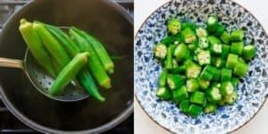 Japanese Okra Salad Recipe (17)