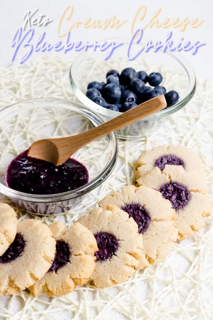 Keto Cream Cheese Blueberry Cookies LowCarbingAsian Pin 1 (2)