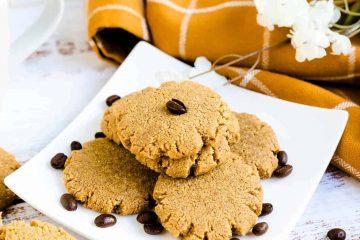 Keto Cream Cheese Coffee Cookies LowCarbingAsian Cover