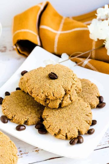 Keto Cream Cheese Coffee Cookies LowCarbingAsian Cover